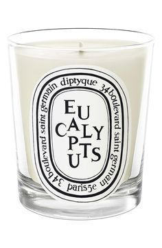 Can't wait to burn this relaxing Eucalyptus candle.