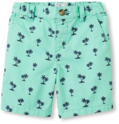 Palm trees embroidered shorts Original price: $17.95 - Sale price: $4