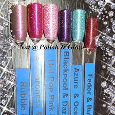 CND Shellac & Lecente Glitter combinations @ Polish & Glow Shellac Colors, Shellac Nails, Nail Colors, Colours, Glow Nails, Glitter Gel Nails, Lecente Glitter, Pedi, Pretty Nails