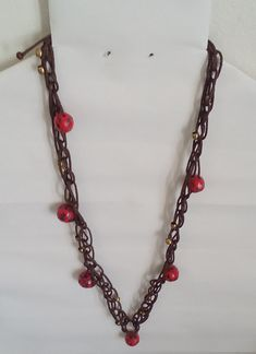 """Halskette """"Boho-chic"""" Halsschmuck – Unikate Schmuck Jewelry Shop, Jewelry Design, Jewellery, Boho Necklace, Necklaces, Most Romantic, Red Fashion, Jewelry Findings, Jewelry Collection"""
