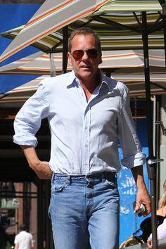 Kiefer Sutherland and Siobhan Bonnouvrier Photos Photos: Kiefer Sutherland Gets…