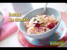 ▶ Kasza jaglana na słodko - Kotlet.TV - YouTube
