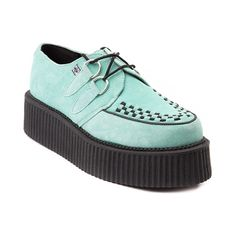 Shop for Womens T.U.K. Creeper Mondo Sole Shoe in Mint at Journeys Shoes.