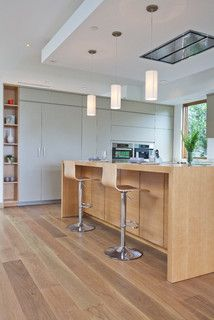 Jacon Way - Contemporary - Kitchen - los angeles - by Building Solutions and Design, Inc - cool stools