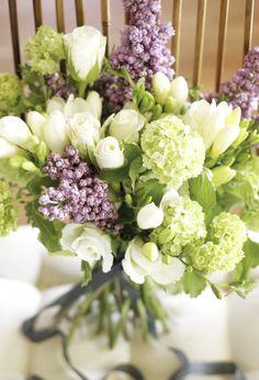 roses, lilac & freesia
