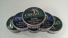Grizzly Smokeless Chewing tobacco Dip. Um dia vou pedir vários.