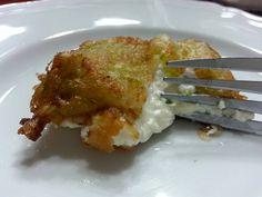 Fiori di Zucchina Pastellati con Cuore Agrumato
