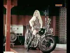 Brigitte Bardot - Harley Davidson