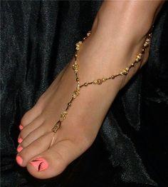 Toe anklet