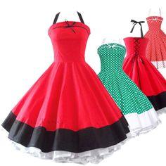 50's fashion dresses