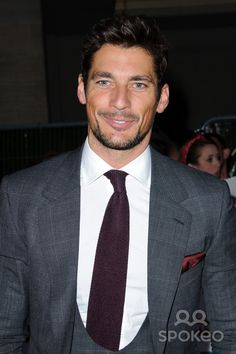 David Gandy arriving for the 2011 Pride Of Britain Awards, at the ...