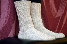 KARDEMUMMAN TALO: Kaapeli AnniKaiselta Socks, Fashion, Hosiery, Moda, Fasion, Stockings, Fashion Illustrations, Fashion Models, Sock