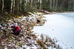 Oottekos käyneet Hevonlinnassa pulkkamäessä?  http://www.naejakoe.fi/luontojaulkoilu/hevonlinnan-harju-koski-tl/