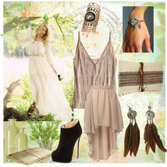 The Boho Days Of Summer, created by nikahayes on Polyvore