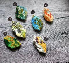 【礦石】別針/胸針/刺繡