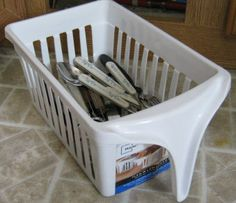 baskets with handles for RV storage