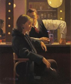 Jack Vettriano | Cocktails and Broken Hearts