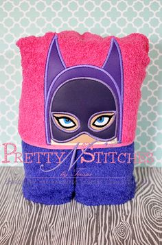 5X7 Night Girl Peeker Applique Embroidery Design  by PrettyNStitches, $4.40 USD