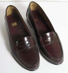 New Brown Leather Nunn Bush Lincoln Penny Loafers Youth Women 6 Narrow #NunnBush #LoafersMoccasins