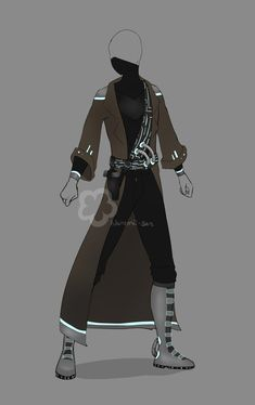 Futuristic Traveler Outfit by Nahemii-san