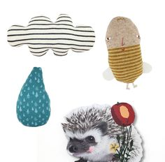 handmade knit toys and nursery decor accessories from Collette Bream on @Etsy. See more at SmallforBig.com