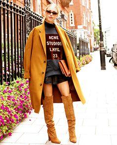 Cake's short skirt, long jacket. YES. amazing. | Halloween Ideas ...