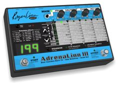 Adrenalinn II Beat-Synced Multi Filter FX for Guitar with Amp Modeling and Drum Machine - live & studio piece