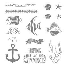 Seaside Shore Clear-Mount Stamp Set 141625 by Stampin' Up!