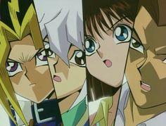 Yami Yugi,  Bakura, Tea and Tristan