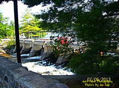 The Bala Falls in Bala Ontario deep in the heart of the Muskoka's Ontario, Sidewalk, Country Roads, River, Pictures, Deep, Heart, Photos, Side Walkway