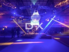Sparkling result with our huge chandelier, to add a wow factor for your event by DX