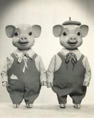 Pinky and Perky - I watched them avidly and even had their vinyl record!