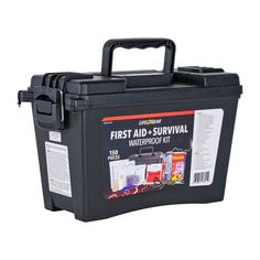 Car Survival Kits, Emergency Preparedness Kit, Survival Items, Emergency Preparation, Survival Gear, Survival Skills, Hospital Bag For Mom To Be, First Aid Supplies, Ammo Cans