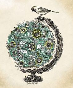 illustration #art #illustration i-heart-this-art-crafts