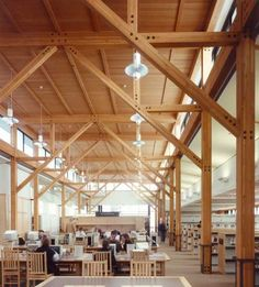 Thomas Hacker Architecture , Bend Public Library, Bend OR, 1997