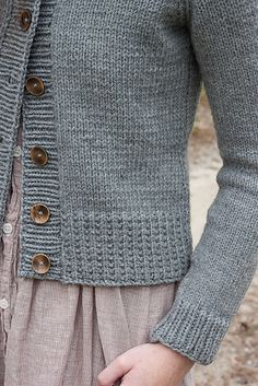 Ravelry: Ramona Cardigan by Elizabeth Smith