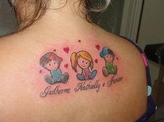 Resultado de imagem para tattoo de mãe para filho