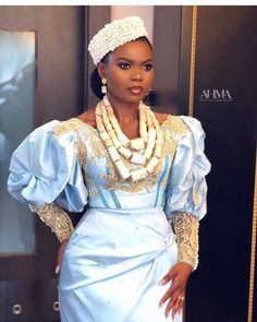 African Inspired Fashion, Africa Fashion, African Fashion Dresses, Elegant Bride, Beautiful Bride, Ankara Wedding Styles, Ankara Styles, Igbo Bride, Bridal Planner