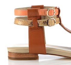 Stylish Sandals, Flat Sandals, Flats, Designer Shoes, Footwear, Belt, Chic, Accessories, Loafers & Slip Ons