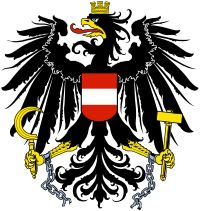 e current coat of arms of Austria, albeit without the broken chains, has been in use by the Republic of Austria since 1919. Between 1934 and...