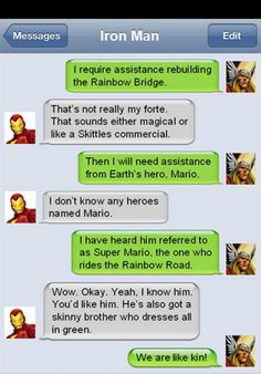 Iron Man- Thor