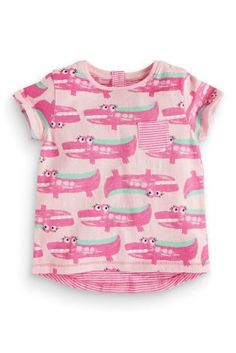 64.- Buy Pink Crocodile Multibuy T-Shirt (3mths-6yrs) online today at Next: Croatia