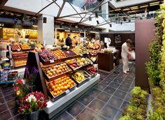 Indoor Market in Madrid