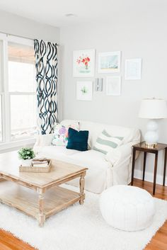 Styling A Small Space | theglitterguide.com