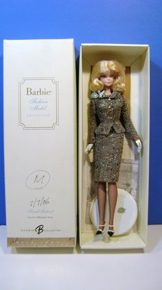 Mattel Barbie Gold Label Tweed Indeed Silkstone Employee MHK Sample Loose READ | eBay