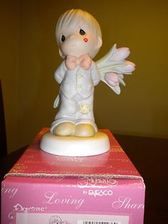 For The Sweetest Tu Lips in Town Precious Moments Figurine NIB | eBay