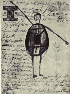 "A ""sorcerers' passport,"" offering safe passage to vodou initiates, obtained by Albert Métraux during his anthropological field work in Haiti in the 1940s. Kate Ramsey notes that the Haitian secret societies that issue these passports are linked to vodou and still form an active alternative (""nighttime"") system for delivering law and justice to their adherents."