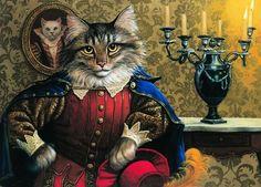 principegatuno, ilustración de Ruth Sanderson
