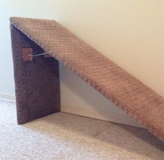 23 trendy diy dog stairs to bed litter box Dog Steps For Bed, Dog Ramp For Bed, Pet Ramp, Diy Dog Bed, Diy Bed, Doggie Beds, Pet Steps, Murphy Bed Ikea, Murphy Bed Plans