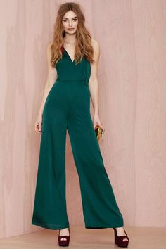 Love Train Satin Jumpsuit | Shop Rompers + Jumpsuits at Nasty Gal